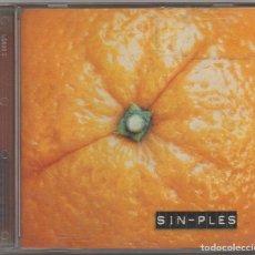 CDs de Música: SIN-PLES - NARANJA / CD ALBUM DEL 2001 / MUY BUEN ESTADO RF-8629. Lote 227475555