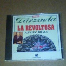 CDs de Música: DE ZARZUELA (LA REVOLTOSA, ALFREDO KRAUS), VER OTRA FOTO CON INFORMACIÓN.. Lote 227667935