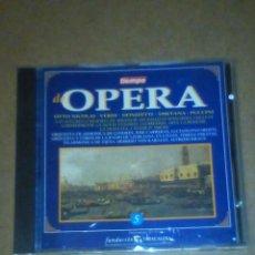 CDs de Música: DE OPERA, VOLUMEN 5 (VER OTRA FOTO CON INFORMACIÓN EN EL INTERIOR).. Lote 227669320