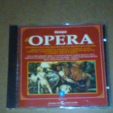 CDs de Música: DE OPERA, VOLUMEN 6 (VER OTRA FOTO CON INFORMACIÓN EN EL INTERIOR).. Lote 227669425