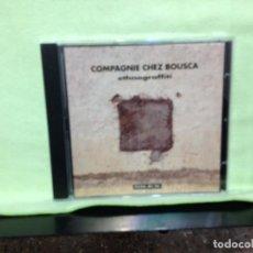 CDs de Música: COMPAGNIE CHES BOUSCA - ETHNOGRAFFITI / RARO CD 1991 FRANCE. NM-NM. Lote 227676920
