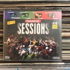 CDs de Música: DANCE SESSIONS 4XCD MAX MUSIC. Lote 227687510