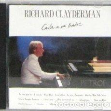 CDs de Música: RICHARD CLAYDERMAN - CARTA A MI MADRE - CD. Lote 269438838