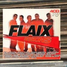 CDs de Música: FLAIX SESSIONS 4XCD BIT MUSIC. Lote 227696275