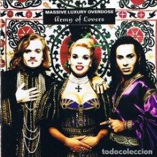 CDs de Música: CD ARMY OF LOVERS MASSIVE LUXURY OVERDOSE AQUITIENESLOQUEBUSCA ALMERIA. Lote 227699655