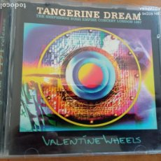 CDs de Música: TANGERINE DREAM VALENTINE WHEELS CD. Lote 227705250