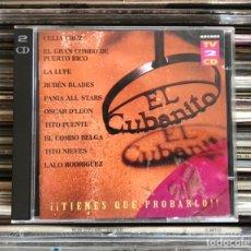 CDs de Música: EL CUBANITO 2XCD'S RECOPILATORIO CELIA CRUZ, FANIA, RAY BARETO... Lote 227710500