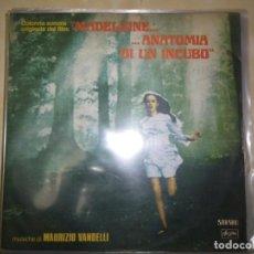 CDs de Musique: BANDAS SONORAS DE LA PELÍCULA  MADELEINE... ANATOMIA DI UN INCUBO MAURIZIO VANDELLI. Lote 227712755
