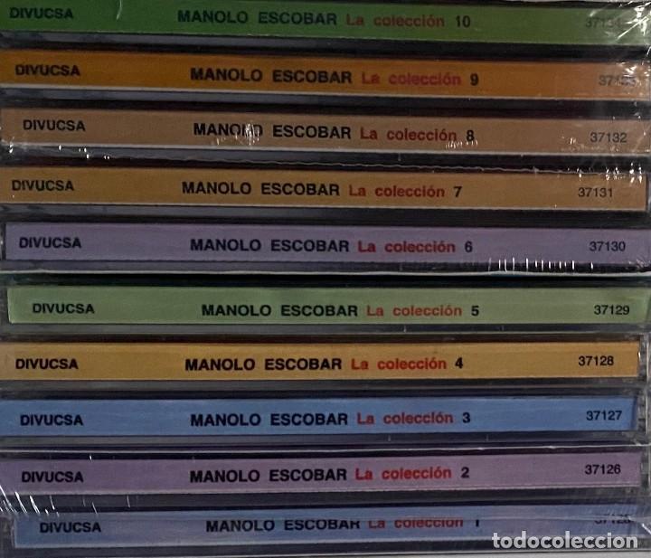 COLECCION COMPLETA MANOLO ESCOBAR 10 CDS PRECINTADOS VOL 1 AL 10 AQUITIENESLOQUEBUSCA ALMERIA (Música - CD's Flamenco, Canción española y Cuplé)