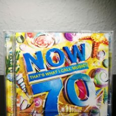 CDs de Música: CD NOW 70 / NOW THAT´S WHAT I CALL MUSIC! 70 COMPILATION 2 X CD 2008 EMI. Lote 227743330