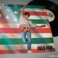 CDs de Música: MAX-HIM - LADY FANTASY .. MAXISINGLE DE BLANCO Y NEGRO EN 1985 - SONIDO ITALO DANCE 5 ESTRELLAS. Lote 227770040