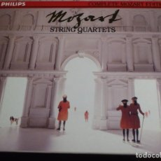 CDs de Música: COMPLETE MOZART EDITION PHILIPS. VOLUMEN 12. STRING QUARTETS. 8 CD´S. Lote 227772955