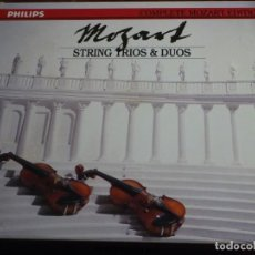 CDs de Música: COMPLETE MOZART EDITION PHILIPS. VOLUMEN 13. STRING TRIOS & DUOS. 2 CD´S. Lote 227773160