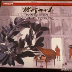 CDs de Música: COMPLETE MOZART EDITION PHILIPS. VOLUMEN 14. PIANO QUINTET, QUARTETS, TRIOS. 5 CD´S. Lote 227773280