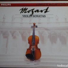 CDs de Música: COMPLETE MOZART EDITION PHILIPS. VOLUMEN 15. VIOLIN SONATAS. 7 CD´S. Lote 227773635