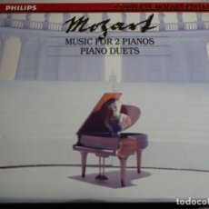 CDs de Música: COMPLETE MOZART EDITION PHILIPS. VOLUMEN 16. MUSIC FOR 2 PIANOS. PIANO DUETS. 2 CD´S. Lote 227774765