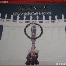 CDs de Música: COMPLETE MOZART EDITION PHILIPS. VOLUMEN 21. ORGAN SONATAS & SOLOS. 2 CD´S. Lote 227775425