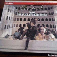 CDs de Música: COMPLETE MOZART EDITION PHILIPS. VOLUMEN 36. ZAIDE DER SCHAUSPIELDIREKTOR. 2 CD´S. Lote 227775780