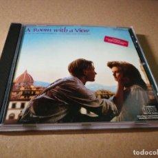 CDs de Musique: A ROOM WITH A VIEW UNA HABITACION CON VISTAS BANDA SONORA CD 1986 RICHARD ROBBINS KIRI TE KANAWA. Lote 54497054