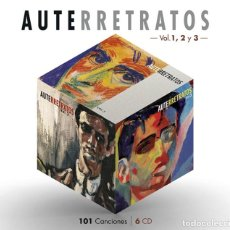 CD de Música: LUIS EDUARDO AUTE * BOX SET 6 CD 101 CANCIONES* AUTERRETRATOS VOL 1,2 Y 3 *CAJA PRECINTADA* DIGIPACK. Lote 274035553