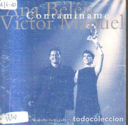 CONTAMINAME. ANA BELEN VICTOR MANUEL CD-SOLESP-1017 (Música - CD's Pop)