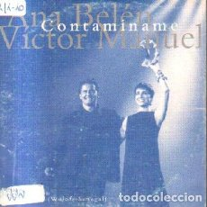 CDs de Música: CONTAMINAME. ANA BELEN VICTOR MANUEL CD-SOLESP-1017. Lote 227900630