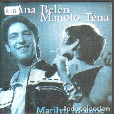 MARILYN MONROE. ANA BELEN MANOLO TENA. CD-SOLESP-1020 (Música - CD's Pop)