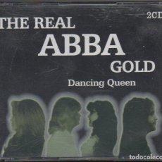 CDs de Musique: THE REAL ABBA GOLD - DANCING QUEEN / DOBLE CD ALBUM DEL 2003 / MUY BUEN ESTADO RF-8672. Lote 227922015