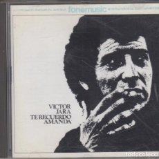 CDs de Musique: VÍCTOR JARA CD TE RECUERDO AMANDA 1994 FONOMUSIC SPAIN. Lote 227925205