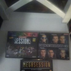 CDs de Música: LOTE MÚSICA TECNO CD MEGASESION, DANCE SESSIONS, DANCE SESSIONS 2. Lote 227926835