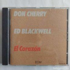 CDs de Música: DON CHERRY / ED BLACKWELL - EL CORAZÓN (CD, ALBUM) (ECM RECORDS). Lote 227953420