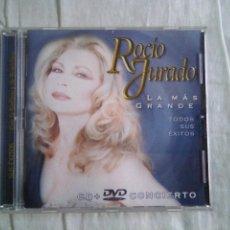 CDs de Música: ROCÍO JURADO LA MAS GRANDE CD Y DVD. Lote 227992482
