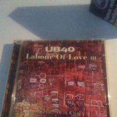 CDs de Música: UB40 - LABOUR OF LOVE III - CD. Lote 228031280