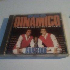 CDs de Música: DUO DINAMICO GUATEQUE CD ALBUM DEL AÑO 1990 MEDLEY 30 GRANDES MOMENTOS DE EXITO 6 TEMAS. Lote 228034455