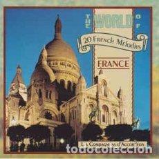 CDs de Música: LES COMPAGNONS D'ACCORDÉON - THE WORLD OF FRANCE (CD, ALBUM) LABEL:TRACE (2) CAT#: 0400372. Lote 228035845