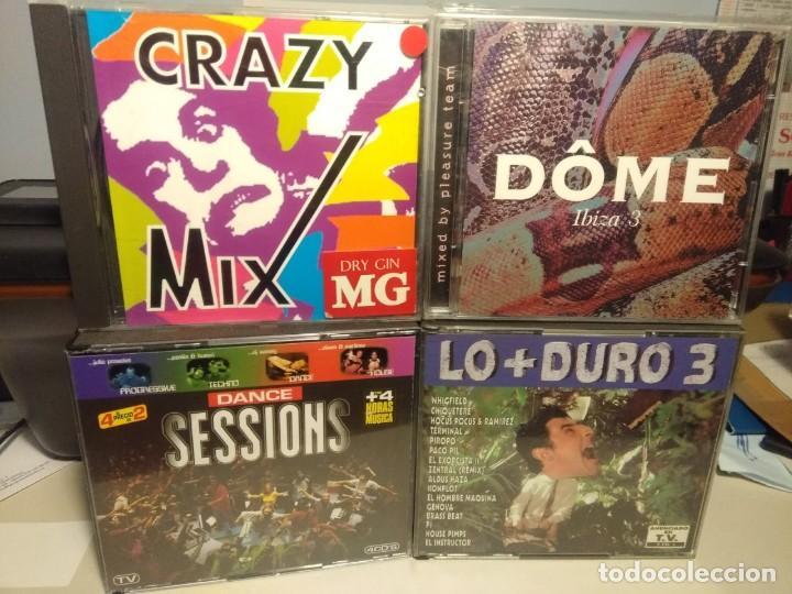 CDs de Música: 20 CD´S DANCE MIX SESSIONS CLUB MAQUINA CRAZY MIX DOME IBIZA LO + DURO CARIBE WIRED EQUINOX ETC - Foto 4 - 228054660