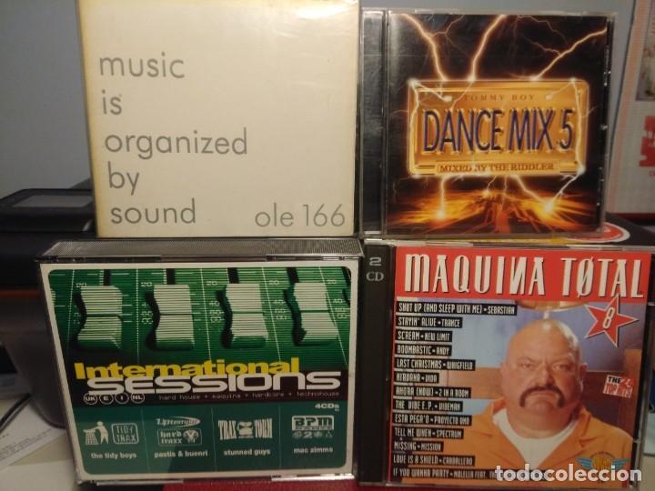 CDs de Música: 20 CD´S DANCE MIX SESSIONS CLUB MAQUINA CRAZY MIX DOME IBIZA LO + DURO CARIBE WIRED EQUINOX ETC - Foto 6 - 228054660