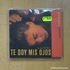 CDs de Musique: ALBERTO IGLESIAS - TE DOY MIS OJOS - CD. Lote 228097167