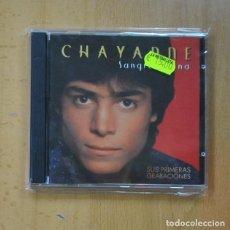 CDs de Musique: CHAYANNE - SANGRE LATINA - CD. Lote 228098298