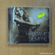 CD di Musica: THALIA - HABITAME SIEMPRE - CD. Lote 228099355