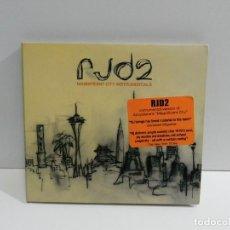 CDs de Música: DISCO CD. RJD2 – MAGNIFICENT CITY INSTRUMENTALS. COMPACT DISC.. Lote 228107205