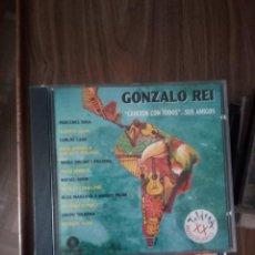 CDs de Música: GONZALO REI - CANCIÓN CON TODOS... SUS AMIGOS. Lote 228110145