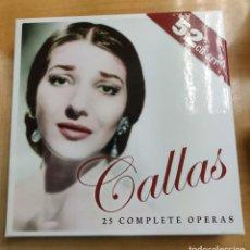 CDs de Música: CALLAS - 25 COMPLETE OPERAS - BOX 52 CD. Lote 228112466