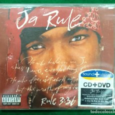 CDs de Música: JA RULE - RUE 3:36 - CD + DVD DE 2000 RF-8690. Lote 228119445