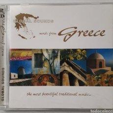 CDs de Música: GLOBAL SOUNDS - MUSIC FROM GREECE 2 CD. Lote 228146890