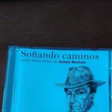 CDs de Música: SOÑANDO CAMINOS. LIEDER SOBRE TEXTOS DE ANTONIO MACHADO. Lote 228153917