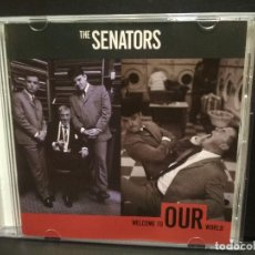 CDs de Música: THE SENATORS WELCOME TO OUR WORLD CD EUROPA 1988 PDELUXE. Lote 228191205