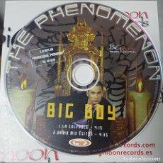 CDs de Música: THE FENOMENON - BIG BOY - RARO CD PROMOCIONAL - LA CULPABLE Y OTRO - BIG MOON RECORDS. Lote 228197075