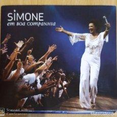 CDs de Música: SIMONE BITTENCOURT (EM BOA COMPANHIA) 2 CD'S 2010 BRASIL. Lote 228203030