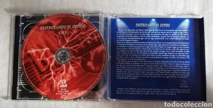 CDs de Música: Doble CD Destrozando el Olvido (Variado bandas nacionales de Hard-Rock y Heavy Metal de los 80-90). - Foto 3 - 228213690